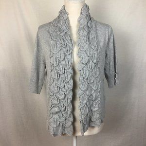 $4 SALE! Ethyl 3/4 Sleeve Open Front Cardigan